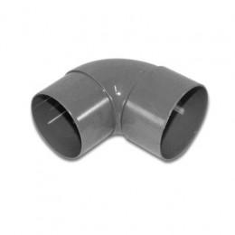 PVC bogen 90 graden rond 80 mm