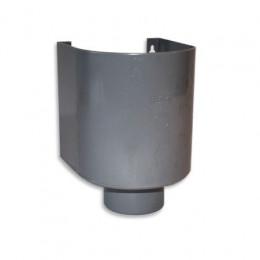 PVC Sammelbehälter mit Abfluss Ø 100mm