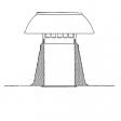 Dachentlüftung DW Ø 70-80 mm aluminium